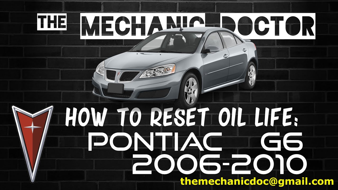 2007 Pontiac G6 Oil Pressure Light
