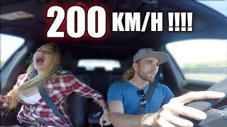 A 200km/h en un GTi con mi MUJER!!! @dittamoon | Dani Clos