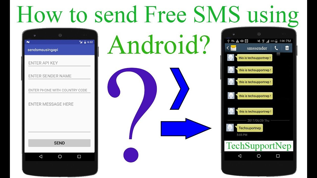 How to Send Free SMS using Android?[With Source Code]