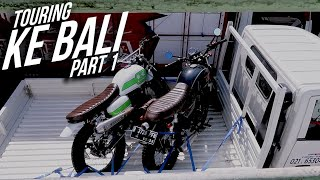 Bawa Motor Naik Pick Up ke Bali, Motoran Vlog part 1