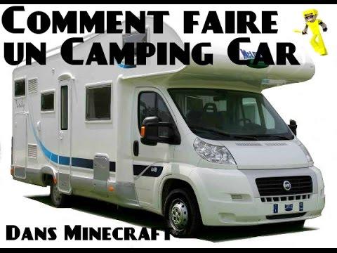 tuto minecraft comment faire un camping car youtube