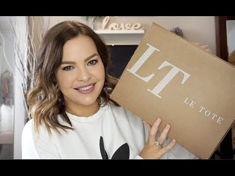 LeTote Subscription Box | Unboxing #3 + Outfits