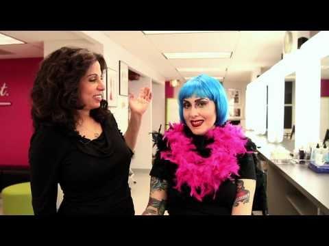 Showgirl/Las Vegas/Burlesque/Beauty Pageant Inspired Makeup Application