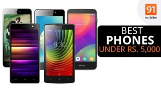 Best Mobile Phones Under Rs 5,000 | India (July 2016) [Hindi]