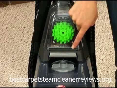 Hoover Steamvac Spin Scrub Turbopower Carpet Cleaner With Clean Surge F5912900 Demo You