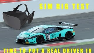 Ever wondered what happens when a real race driver uses VR  ? thumbnail