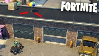 I HIDE WITH GLOBES AND TROLLEO PEOPLE IN FORTNITE 😂🎈