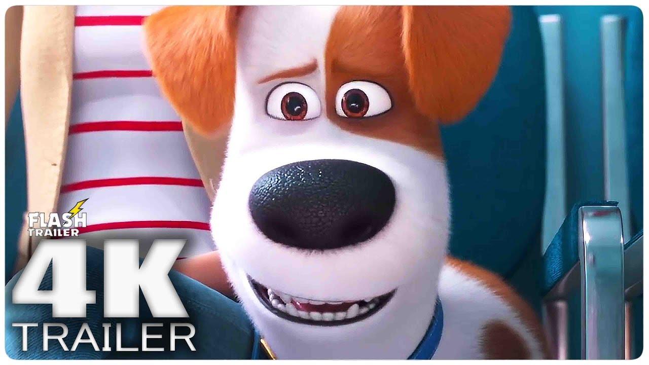 THE SECRET LIFE OF PETS 2 Trailer (2019) 4K Ultra HD