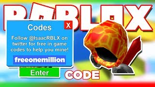 [CODE] How To Get Free Rare Hat And Pet - Mining Simulator Roblox