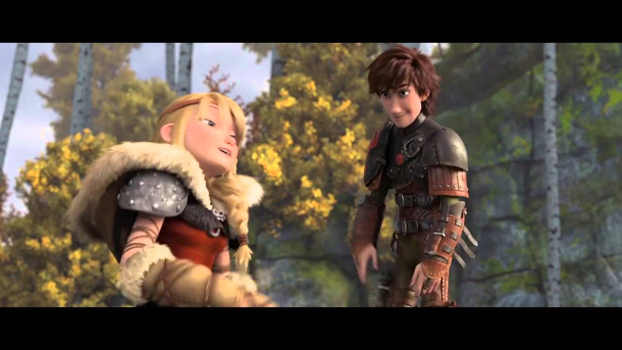How To Train Your Dragon 2  Astrid & Hiccup Clip