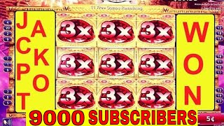 ★JACKPOT HANDPAY★The Dawn of the Andes KONAMI Slot ★BIGGEST WIN★ On YouTube/9000 Subscribers JACKPOT