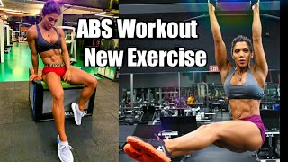 How to ABS Workout at Home & GYM    IFBB PRO Deniz SAYPINAR    Part - 2