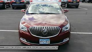 2016 Buick LaCrosse Forest Lake Minneapolis St. Paul P2696