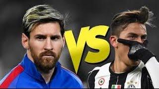 Lionel messi vs paulo dybala 2017 best dribbling skills & goals hd