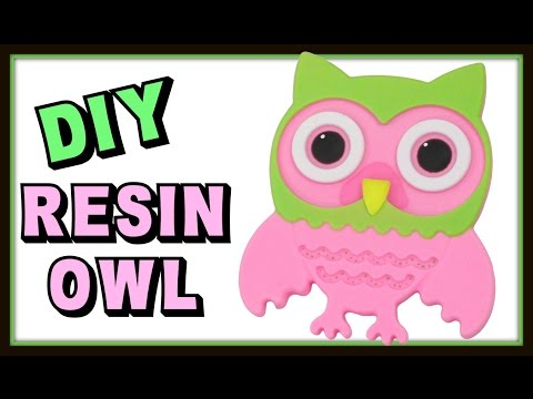 How to Make a Resin Owl DIY ~ Craft Klatch