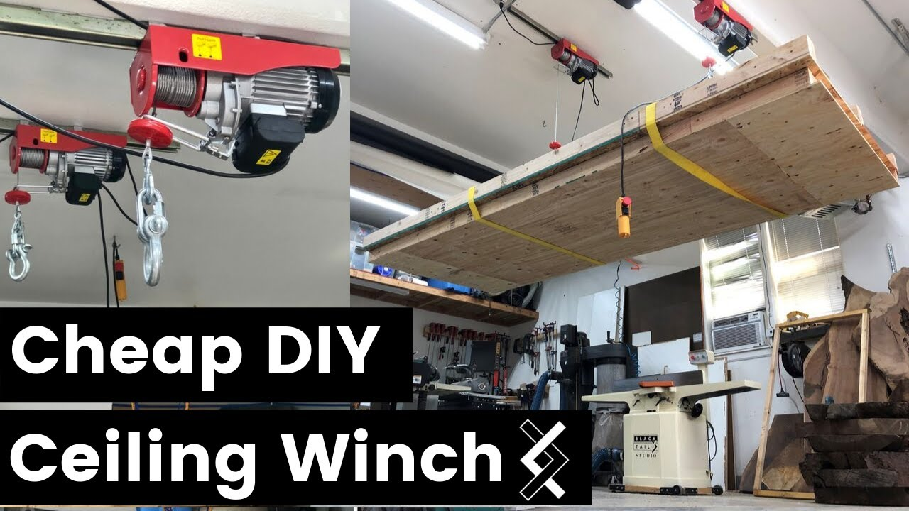 Diy Motorized Garage Storage Lift Dandk Organizer