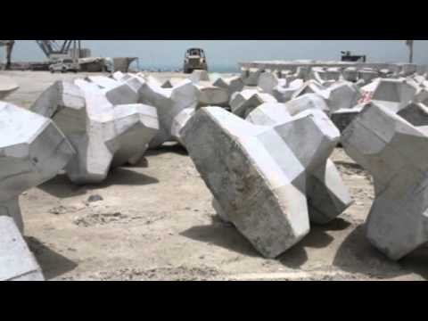 Khalifa KPIZ Marine Works Projetc, Abu Dhabi