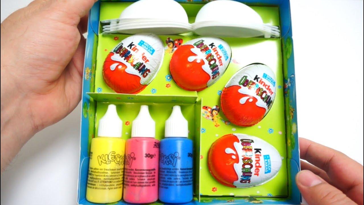 Easter egg painting set kinder surprise egg youtube youtube premium solutioingenieria Images