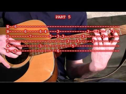 Silent Night Guitar Tab Lesson - Finger Picking Version