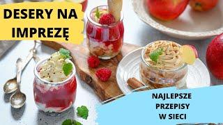 MEGA desery na imprezę - Najlepsze przepisy w sieci | Ugotowani.tv HD