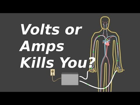 Do Volts or Amps Kill You? Voltage, Current and Resistance