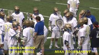Acton Boxborough Varsity Boys Lacrosse vs Haverhill June 2011