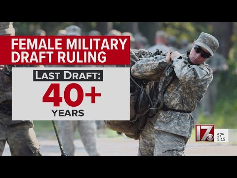 Judge Rules US Military Draft Only For Men Unconstitutional