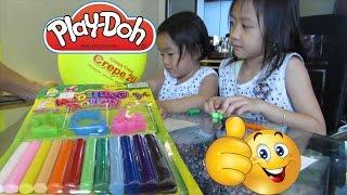 Belajar Berhitung - Mainan Anak Play Doh Modeling Clay Dough Dragonfly Leaf Star @LifiaTubeHD OK