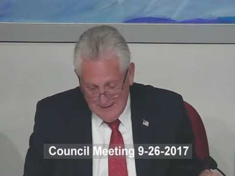 City of Norwalk Council Meeting 2017-09-26