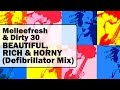 Melleefresh & Dirty 30 - Beautiful, Rich & Horny (Defibrillator Mix)