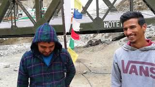 Nako,Khab Bridge,Confulence of Spiti and Satluj River.H.P.Travel Credit: Eeshum Travels