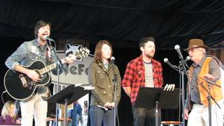 "Jim Avett & Family feat. Seth Avett ""Peace in the Valley"" 4-26-15"