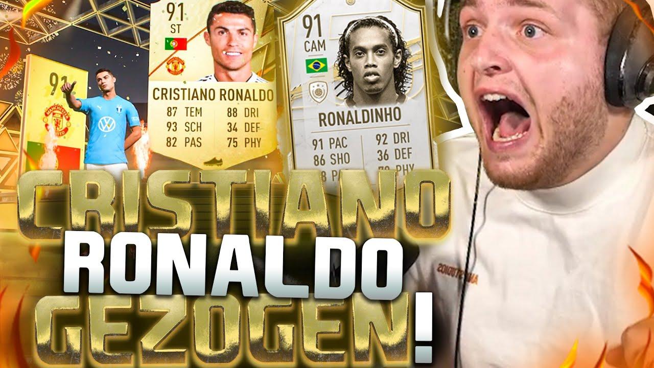 Download 💸😱RONALDINHO GEKAUFT & Cristiano Ronaldo GEZOGEN! | Beste Fifa 22 Team der Welt?!