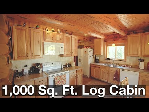 1,000 Sq. Ft. Log Cabin - The Black Forest