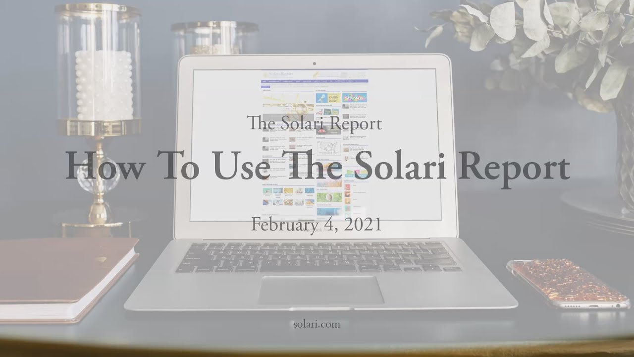 Just A Taste: How to Use The Solari Report