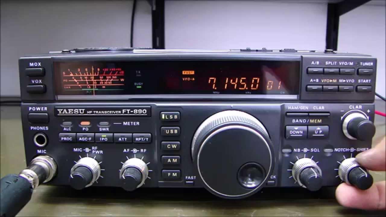 ALPHA TELECOM: YAESU FT-890 COM BAIXA POTÊNCIA DE TRANSMISSÃO