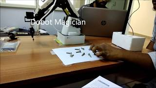 Dobot Magician can now see!
