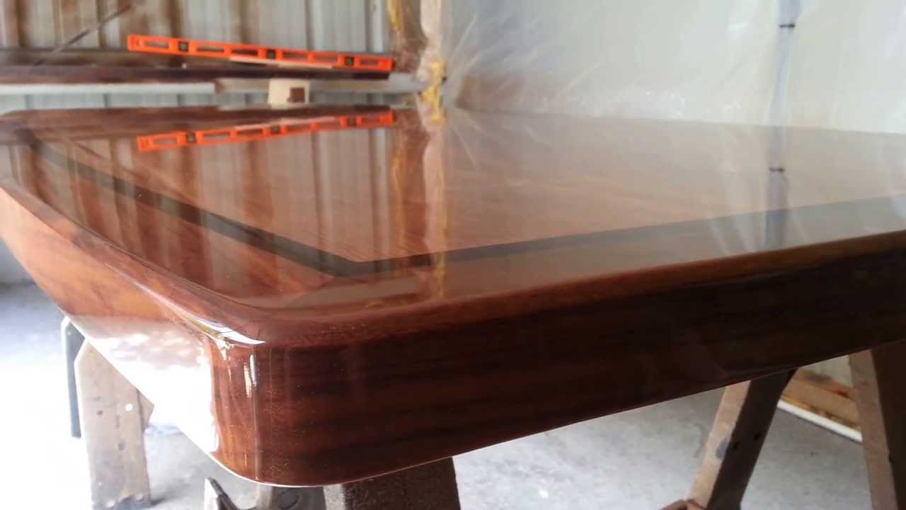 Perfect table finish true wood design youtube