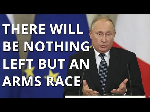 BREAKING! Putin: If Trump Abandons INF Treaty, We Are Entering New Arms Race