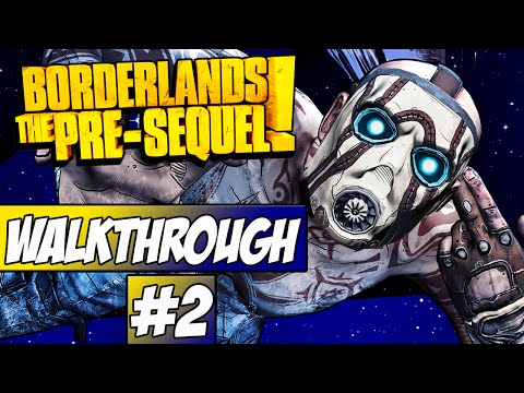 Borderlands: The Pre Sequel Walkthrough Ep.2 w/Angel - I Can Fly!