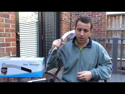 Deep Tissue Handheld Massager Review