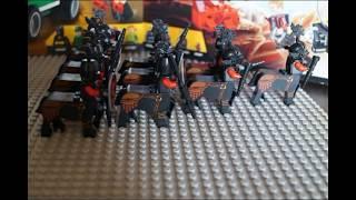 обзор  LEGO-совместимых кентавров. Давно о таких мечтал :)