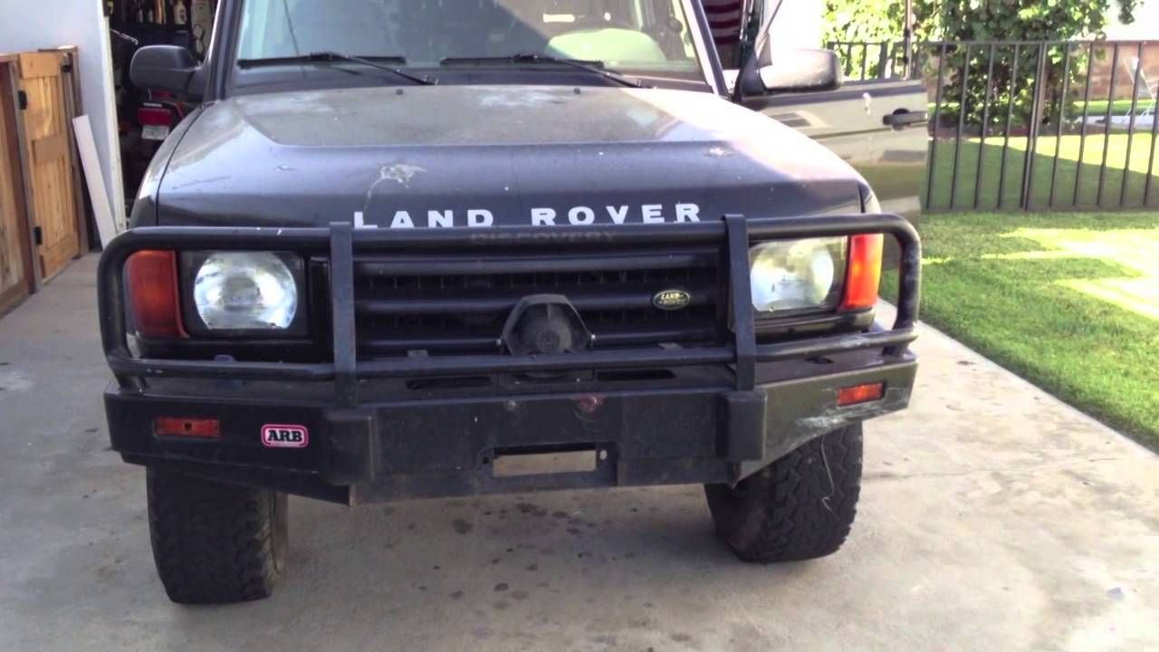rover stefan track bumper arb loaded custom s stefans discovery tough land landrover