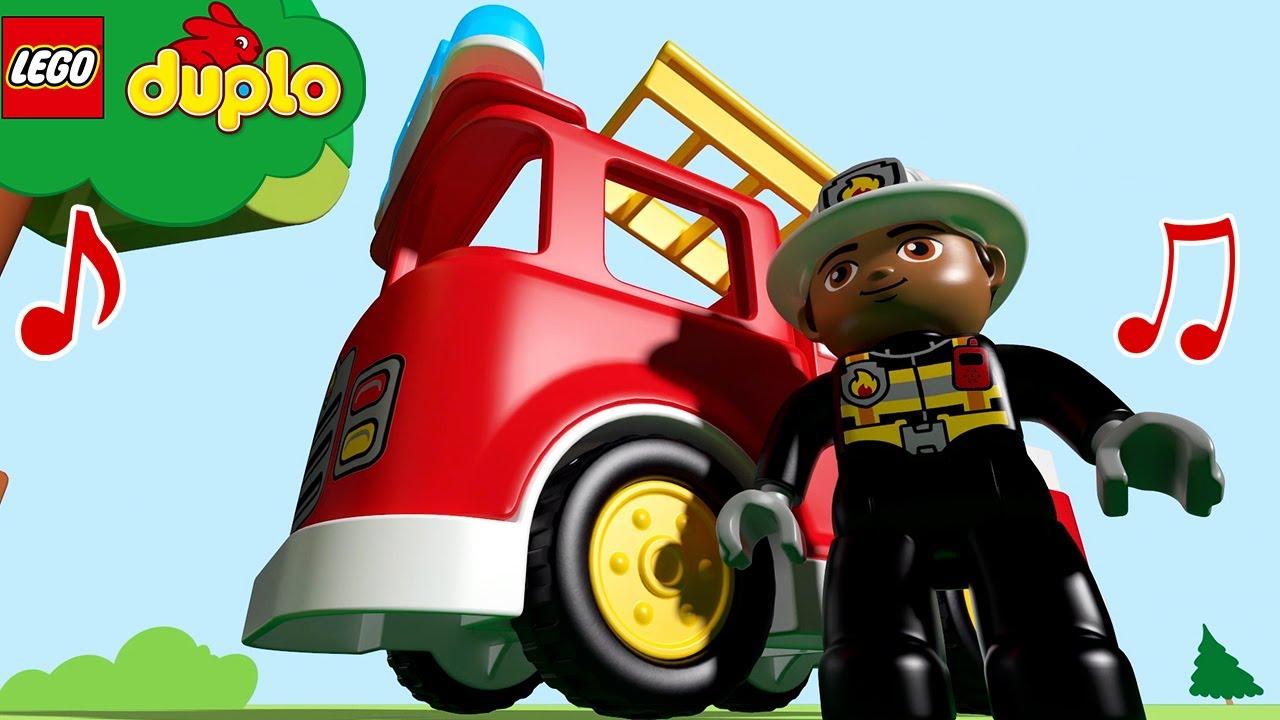 LEGO - SUPER HEROES | Nursery Rhymes  For Babies | DUPLO Cartoons and Kids Songs