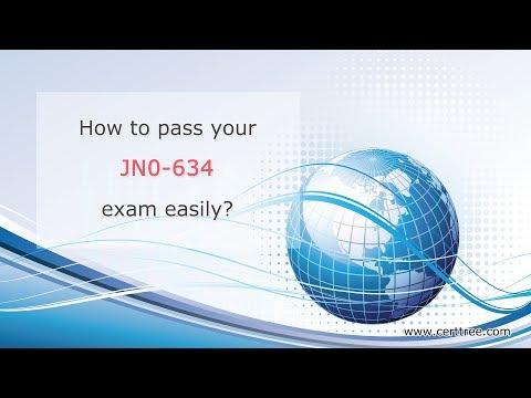 CertTree JNCIP-SEC certification JN0-634 braindumps