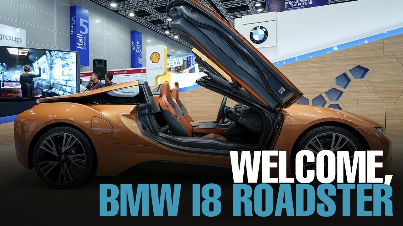 News Bmw Malaysia Welcomes First Ever I8 Roadster Youtube