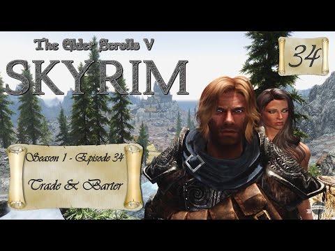 Let's Play Skyrim (Modded) - S1:EP34 Trade & Barter
