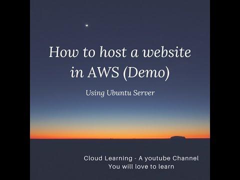 How to host a website in AWS (Ubuntu Server) (Hindi)