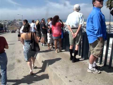 Space Shuttle Sight Mission Part1 - Santa Monica people ;)
