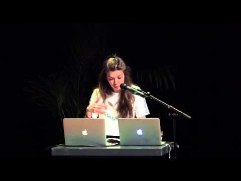 Demonstration-lecture by Alexandra Pirici